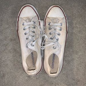 White Converse Shoes - Chuck Taylor Ox